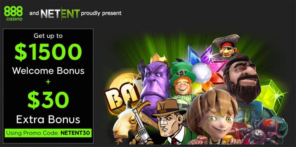 888 Casino Welcome Bonus Code