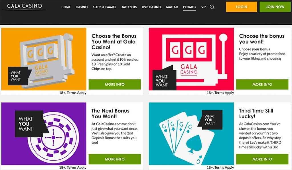 Gala Casino Bonus Offer Code
