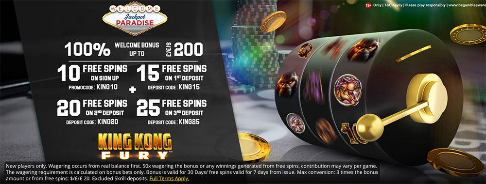 Jackpot Grand Casino No Deposit Bonus Codes