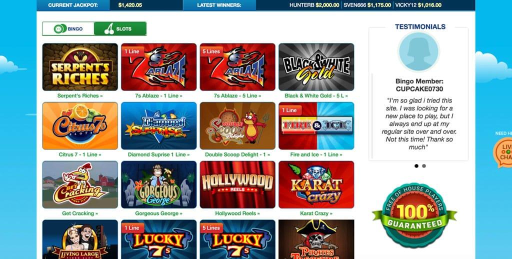 Bingo Billy: Exclusive $40 No Deposit Bonus Offer