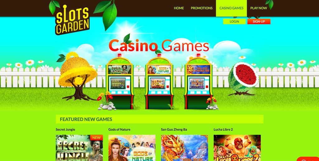 slots garden casino games - Slots Garden Casino