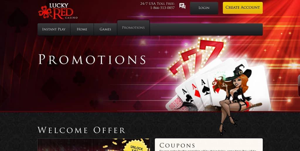 Lucky Red Casino: Bonus and Promo Codes