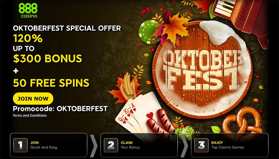 888 Casino Offers High-Value Oktoberfest Promotion