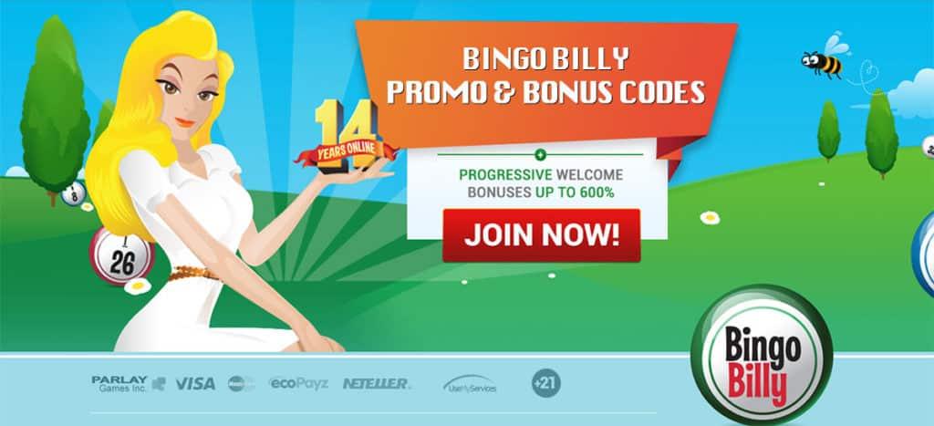 Bingo Billy Bonus Codes