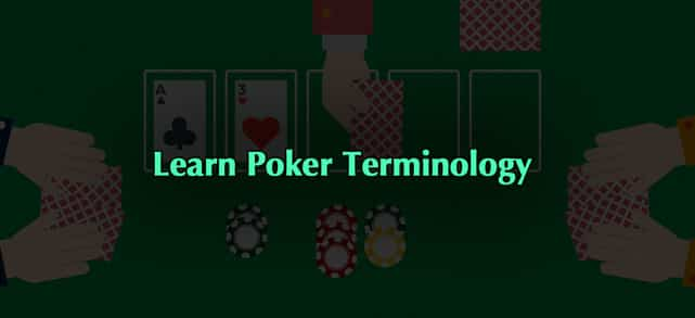 Learning Poker Terminology for Online Play