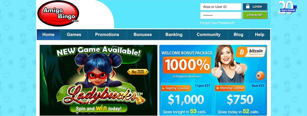 Cyber Bingo No Deposit Bonus