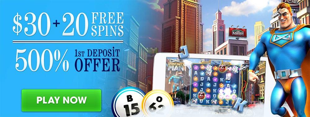 Bingo Spirit No Deposit Bonus