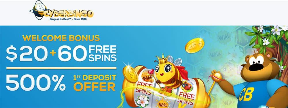 Cyber Bingo No Deposit Bonus Code